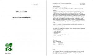 SKH-PUBLICATIE 13-01 LUCHTDICHTHEIDSMETINGEN