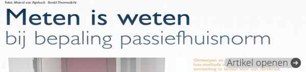 Artikel uit Vakblad Profiel (februari 2012)