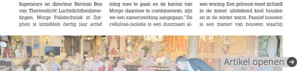 Artikel uit Timmerfabrikant 7/2014 (augustus 2014)